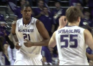 Jordan Henriquez has been suspended by K-State for conduct detrimental to the team.