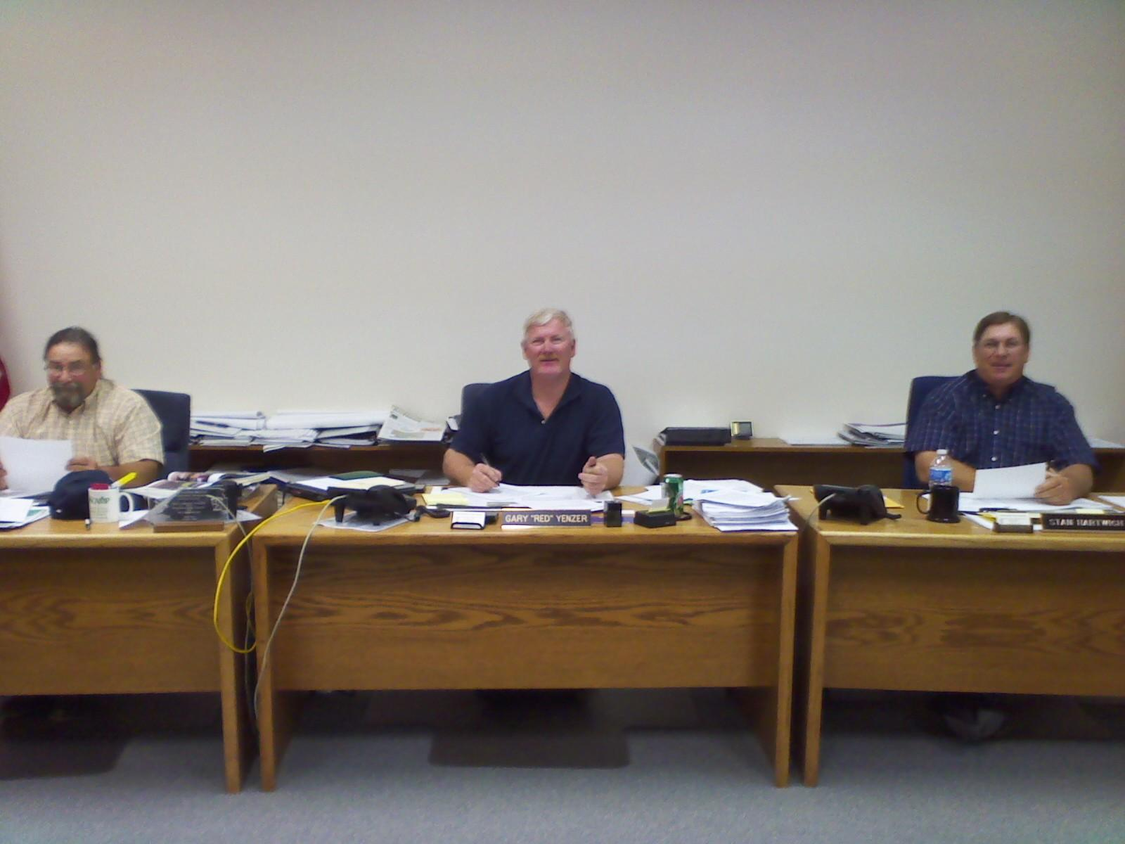 Pottawatomie County commissioners