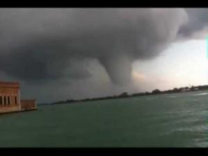 Rare Tornado hits Venice, Italy
