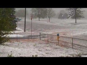 Wild Hailstorm hits Colorado Springs