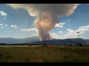 Waldo Canyon Fire covers three Square Miles