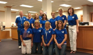 Staff from the Riley County Clerk's office.