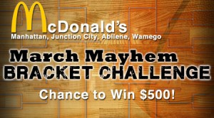 McDonald's March Mayhem Bracket Challenge