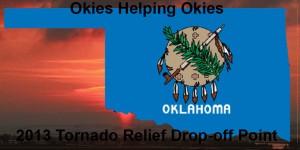 oklahoma map with flag web