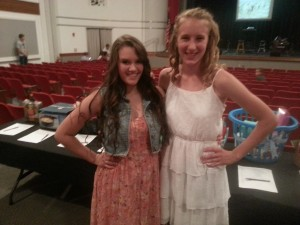 Maggie Shermoen and Alexis Pettay