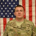Specialist Thomas Hedrick--Photo Courtesy of Fort Riley