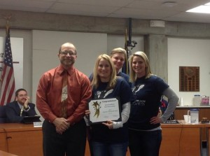 USD 383 Special Recognition Woodrow Wilson 020614