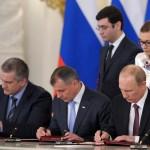 Vladimir Putin, Vladimir Konstantinov, Sergei Aksyonov