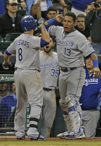 Mike Moustakas, Salvador Perez, Eric Hosmer