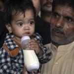 APTOPIX Pakistan Baby Controversy