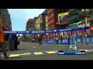 American wins 1st Boston Marathon since bombings