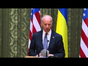 Biden rips Russian annexation of Crimea