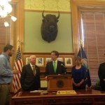 gov brownback and aaron