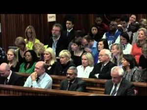 Pistorius Describes Moment Girlfriend Was Killed