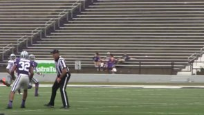 Purple outlasts White in KSU Spring Game