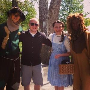 Dan Halen Visits Oz