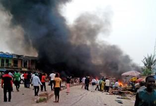 APTOPIX Nigeria Explosions