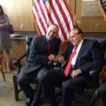Congressman Tim Huelskamp with Sen. Dole