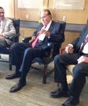 Former Sen. Bob Dole; photo by Cathy Dawes