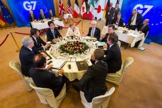 APTOPIX Belgium G7 Summit