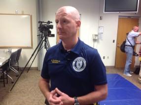 RCPD TASER instructor Lt. Tim Schuck