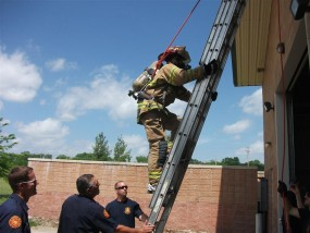 Photo of Junction City Fire Department's Citizen's Academy