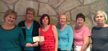 Cathy Scroggs, Marilyn Mahan, Tiffany Lund, Carol Keltner, Marcia Cooper, Judy Regehr (left to right)