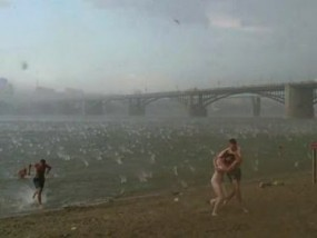 Freak Hailstorm hits Siberia, kills two