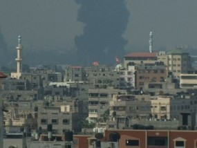 Shells Hit Fuel Tank at Gaza Power Plant
