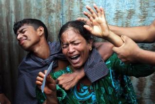 APTOPIX Bangladesh Ferry Accident