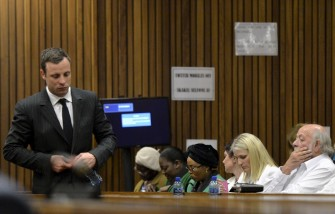 Oscar Pistorius, Barry Steenkamp