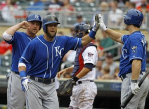 Alex Gordon, Billy Butler, Josh Willingham