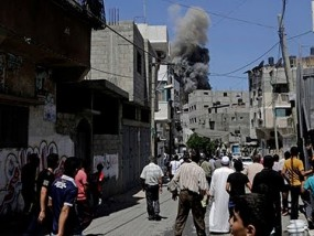 Grief After Deadly Airstrikes in Gaza