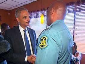 Holder Reassures Ferguson Community With Visit