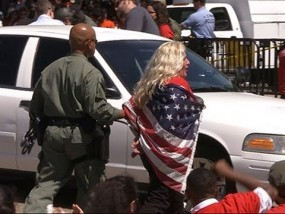 Immigration Arrests Outside White House