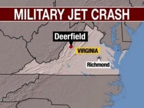 Military Pilot Was Killed in Virginia F-15 Crash
