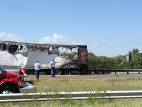 semi on fire 2