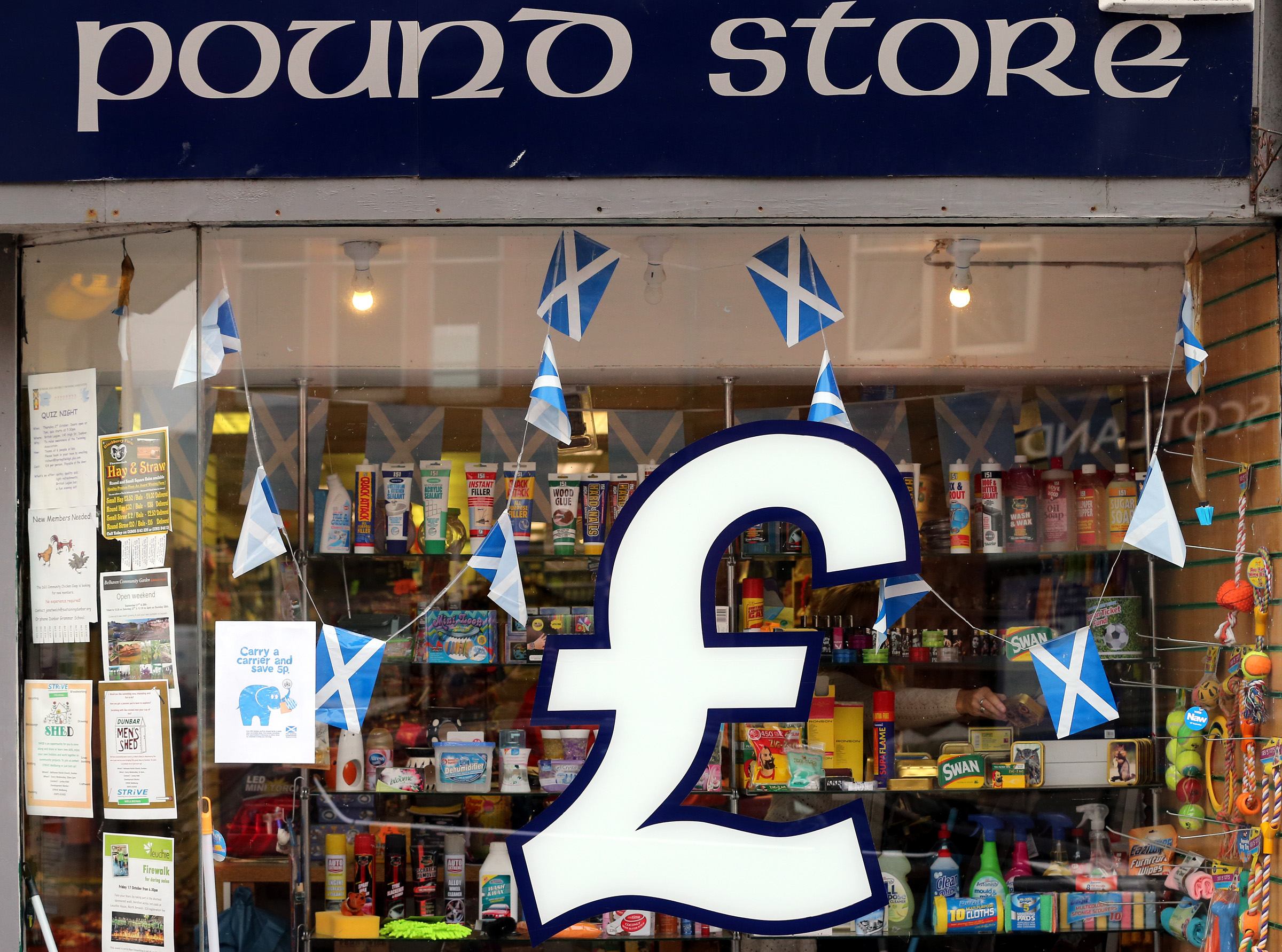 Polls even as Scottish Independence vote nears