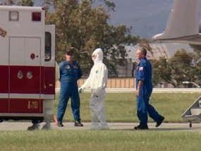 Doctor Exposed to Ebola in NIH Isolation Unit
