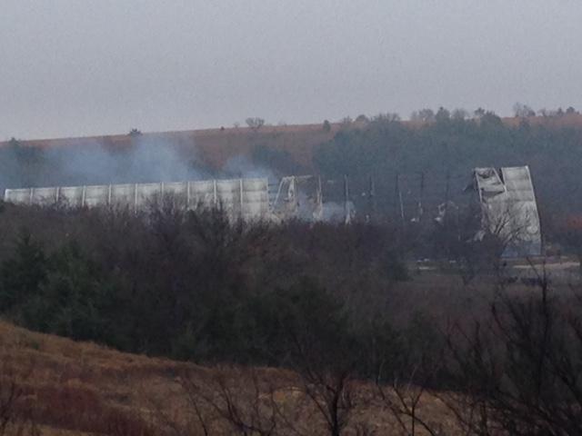 Fox Creek Farm Fire