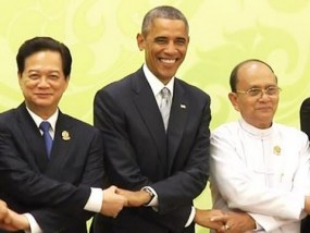 Obama Commits to Southeast Asia at ASEAN Summit