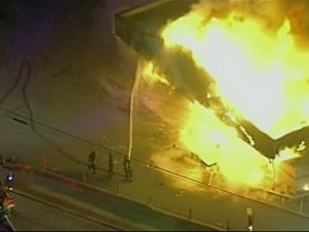 Violence erupts in Ferguson after Grand Jury Decision
