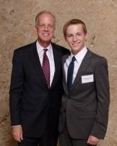 Senator Moran and Nicholas Clark