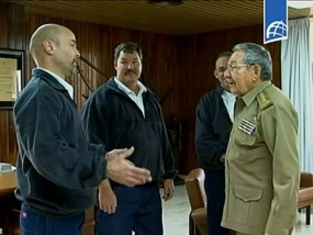 Released Agents Return to Cuba