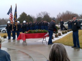 wreath ceremony 1