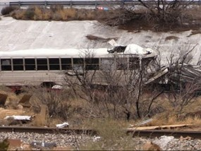 10 Dead After TX Prison Bus Strikes Train