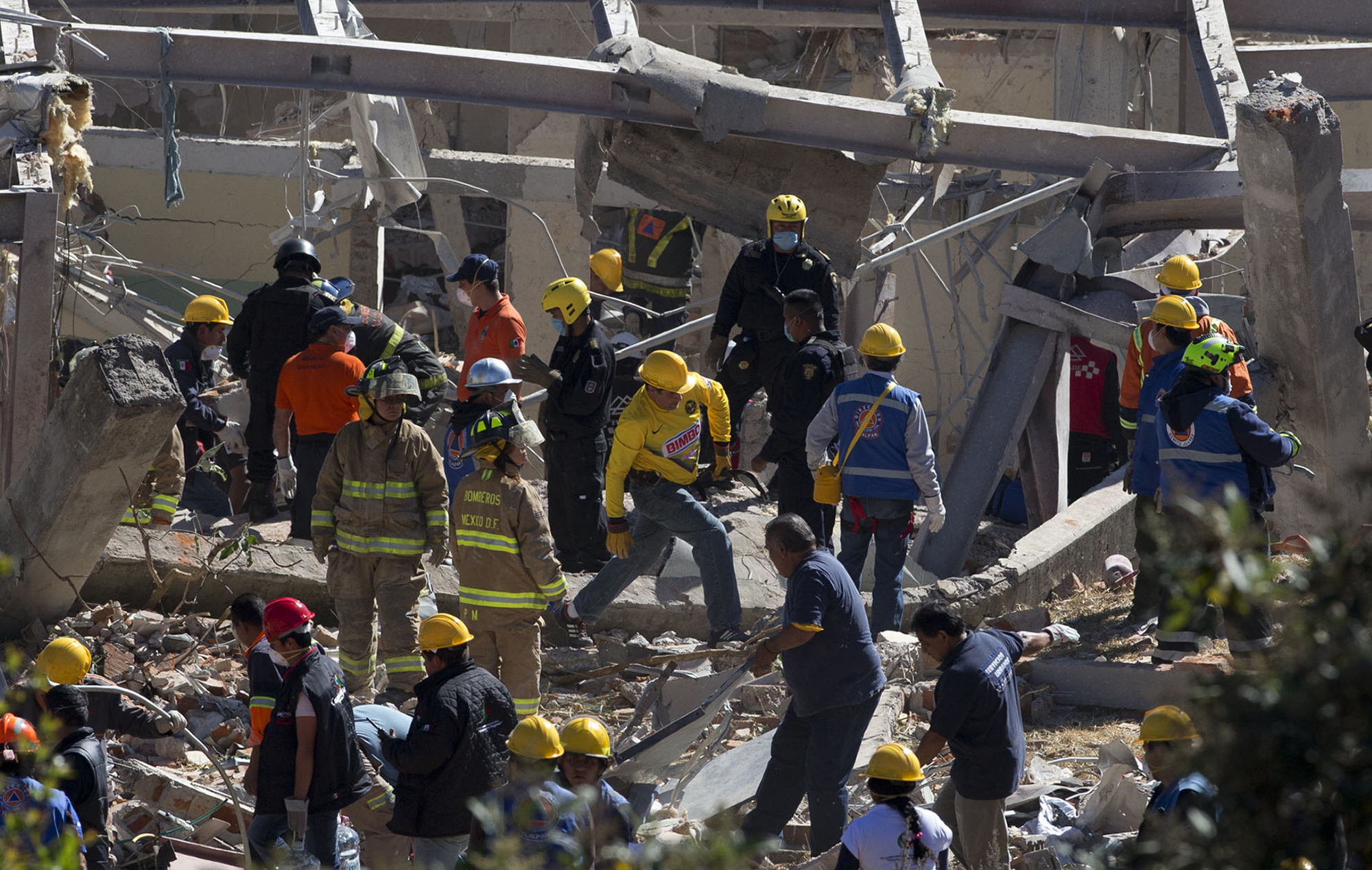 Two dead in Mexico explosion