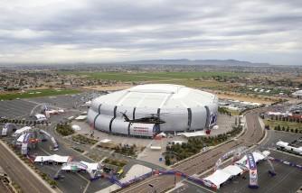 APTOPIX Super Bowl Security