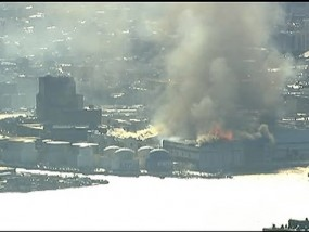 Big Fire at Storage Facility in Brooklyn