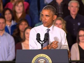 Obama Pitches Economic Plan in Idaho